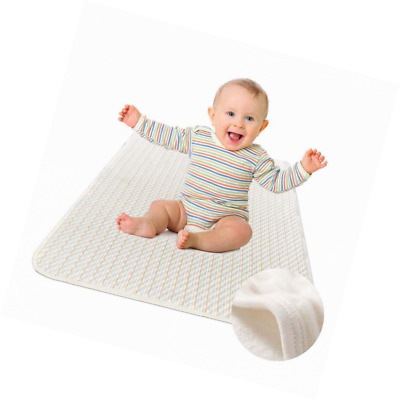 Waterproof Sheet - Washable Bed Pad - Incontinence Mattress Protector for Baby T