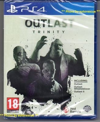 OUTLAST TRINITY HD  'New & Sealed'   *PS4(Four)*