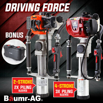 Baumr-AG Post Driver Rammer Fence Steel Star Picket Hammer Petrol 2 4 Stroke