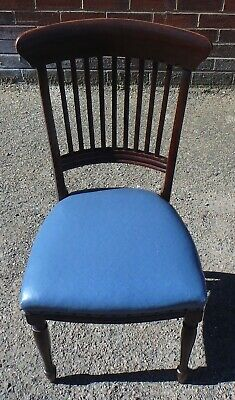 Victorian antique E.W Godwin James Peddle Aesthetic movement mahogany desk chair