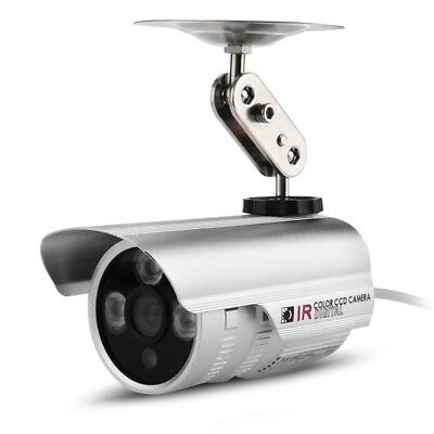 Monitored CCTV camera CMOS HD 1000TVL LED IR Waterproof for Security C4G3