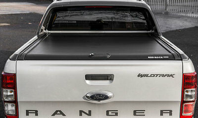 Ford Ranger 2016 - 2018 - Red Rock Tonneau Black Cover - Wildtrak Only