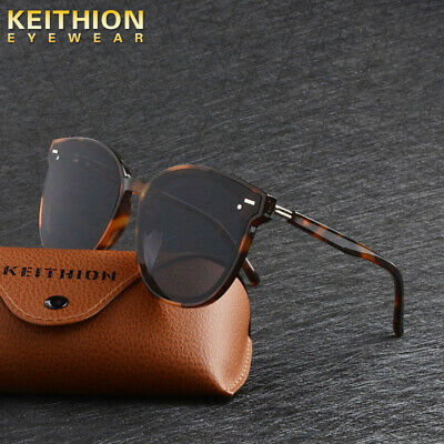 KEITHION Retro Women Vintage Design Fashion Sunglasses Mirrored Cat Eye Shades