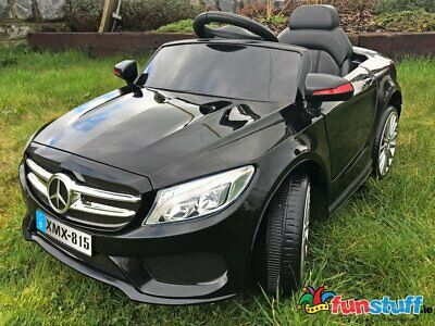 Mercedes Style- 12V Coupe Kids Electric Ride On Car Battery Powered Black