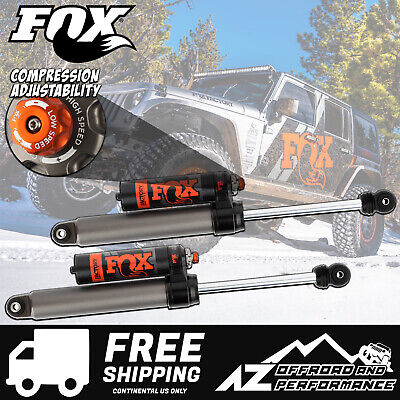 "Fox Race Series 2.5 Rear Resi Shocks for 18-20 Jeep Wrangler JL 3.5 - 4"" Lift"
