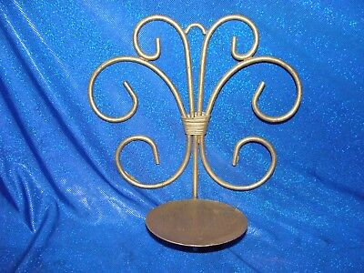 Metal Wrought Iron Style Candle Holder Rustic Tuscan/scrolled Wall Sconce decor
