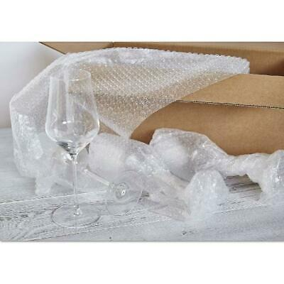 Perforated Sealed Air Bubble Wrap Cushion Cover Protector W/ Dispenser Box 350FT
