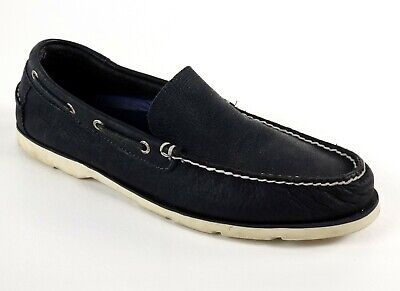 bcfa7967cee4 Sperry Navigator Venetian Boat Shoes Mens 11 M navy top-sider loafers $110