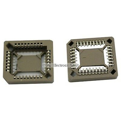 Lot of 560 PLCC 32 Pins Socket Surface Mount Part Number 66013201, Taiwan