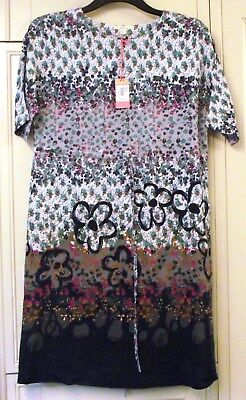 White Stuff - Floral Tunic Dress - Size 10 - Brand New Tags Rrp £65