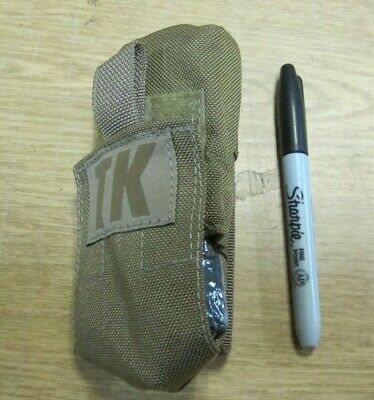 Small TK (Tourniquet) Coyote Pouch General Purpose EMT GI US Made No Tag