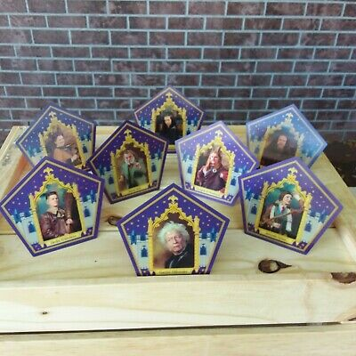 Harry Potter ☆☆☆8 PACK CHOCOLATE FROG 8ARD SET ☆ OLLIVANDER BEST DEAL WORLDWIDE☆