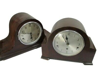 Two Westminster Chime Mantle Clocks