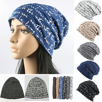 cce289db9 MENS WOMEN HIP Hop Baggy Hat Winter Cotton Ski Beanie Skull Cap ...