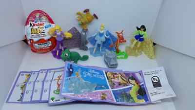 Kinder  JOY Disney Princess USA 2018. complet set  + all Bpz