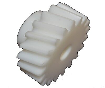 "Helical Gear Plastic 21 Teeth 2.205"" PCD 2.405"" OD Right Hand HPC ZSH10-21RH"