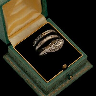 Antique Vintage Deco Mid Century Sterling Silver Mexican TAXCO Mens Ring Sz 6.75
