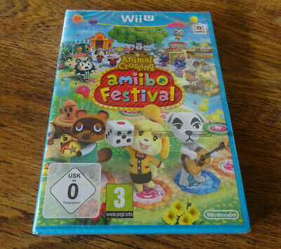 Nintendo Wii U Animal Crossing Amiibo Festival New & Sealed Game