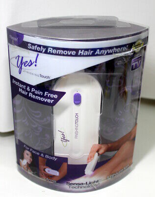 Yes!  Finishing Touch Instant & Pain Free Hair Remover Sensa Light Technology
