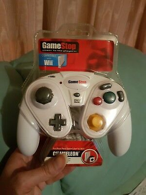 Game Stop Chameleon Controller Compatible Nintendo Wii/Cube/Switch New Uk Uk