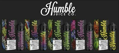USA Premium - HUMBLE E-Liquid Vape JUICE - CO 1OOm, VG/PG 80/20 - 0/3mg