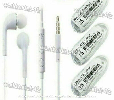 Samsung Handsfree Headphones Earphones Earbud with Mic,Apple iphone 5 5s SE 6 6+