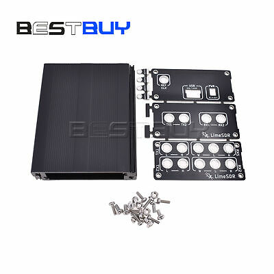 Aluminum Enclosure Cover case for LimeSDR Lime SDR Type-A Type-B BBC