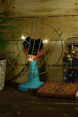 Upcycled Electrolux Antique Fan Repurposed Light Lamp One of a Kind