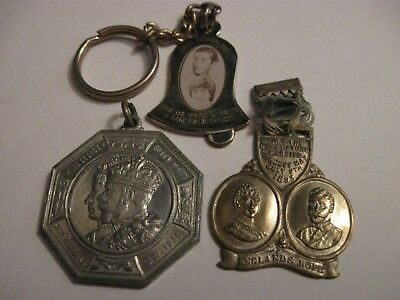 Three Rare Old Royal Wedding & Jubilee Medals 1895, 1935 & 1981