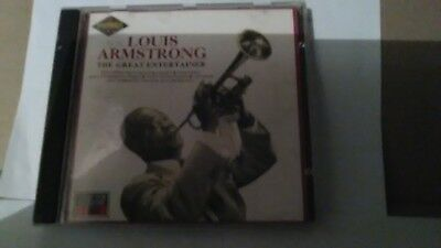 Louis Armstrong The Great Entertainer MFP CD