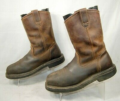 9814ecfbe9c BRAND NEW HYTEST 11D Footrests Brown Steel-toe Safty Boots 25141 ...