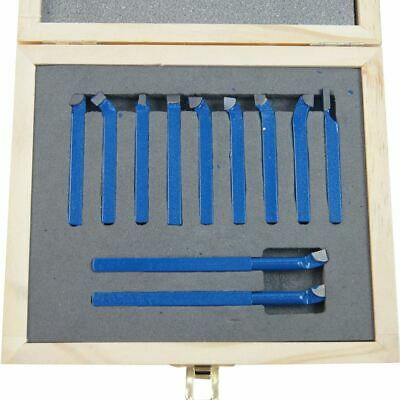 11011806 Lathe 11Pc Brazed Engineer Boring Milling Cutting Turning Tool Set 6MM