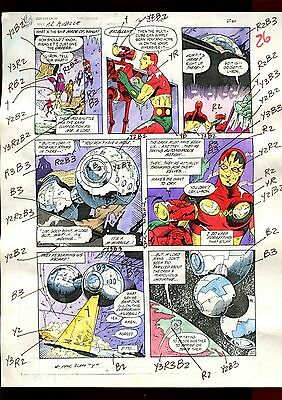 Mister Miracle 16  Page 20 Color Guide-Original Art-1 Of A Kind-Moench-Phillips