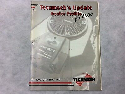 TECUMSEH ENGINES PARTS Manual H60 75117F 75118F Hh60 105013B 105014B