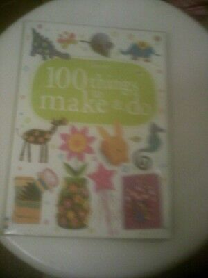 Usborne  100 Things To Make And Do/Boxes/Flags/Flowers/Shiny Rosettes/Rabbits