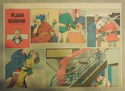 (52) Flash Gordon Sunday Pages by Austin Briggs from 1946 Complete Year!