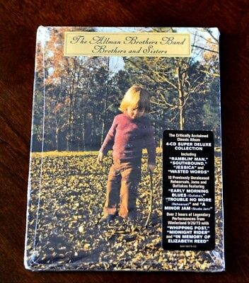 Brothers and Sisters [Super Deluxe Edition] Allman Brothers Band (4CD) SEALED