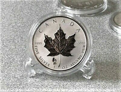 2019 $5 Silver Maple Leaf Reverse Proof Phonograph Privy Coin  1 oz 9999 pure