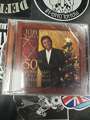 Gold: A 50th Anniversary Christmas Celebration by Johnny Mathis CD~New~Sealed