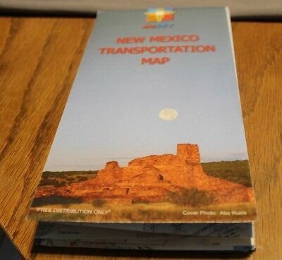 MAP:  New Mexico Transportation Map