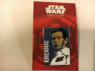 Star Wars Rogue One Krennic (Reveal Conceal) *****NEW*****Disney Pin