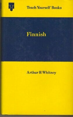 Finnish (Teach Yourself) by Whitney, Arthur H. Hardback Book The Cheap Fast Free