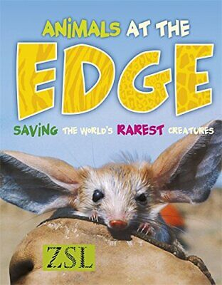 Animals At The Edge (One Shot) by Baillie, Jonathan Hardback Book The Cheap Fast