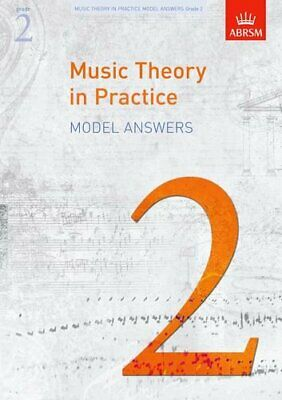 Music Theory in Practice Model Answers, Grade 2 (Music The... by ABRSM Paperback