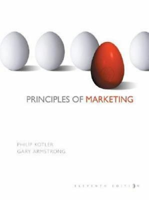 Principles of Marketing by Gary Armstrong and Philip Kotler (2005, Hardcover,...