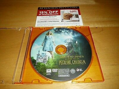 Miss Peregrine's Home for Peculiar Children (DVD Disc ONLY! 2016) Tim Burton