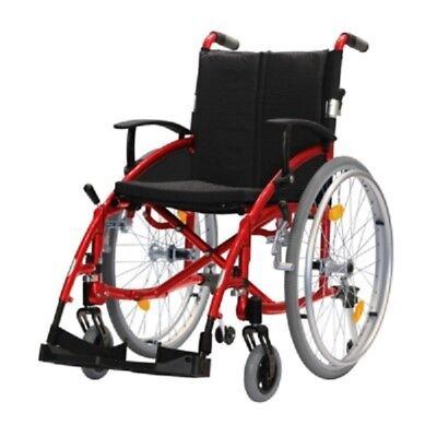 Luxury Red Wheelchair -  New in box, disabled, Aged, injured Quality - Brisbane
