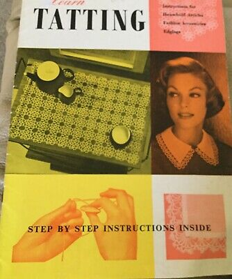 Tatting Illustrated ~ Patterns Cloths, Mats