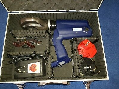 TYCO ELECTRONICS AUTOPRESS C 120 battery operated hydraulic crimping tool