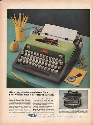 Other Collectible Ads 1953 Royal Typewriter Christian Print Ad